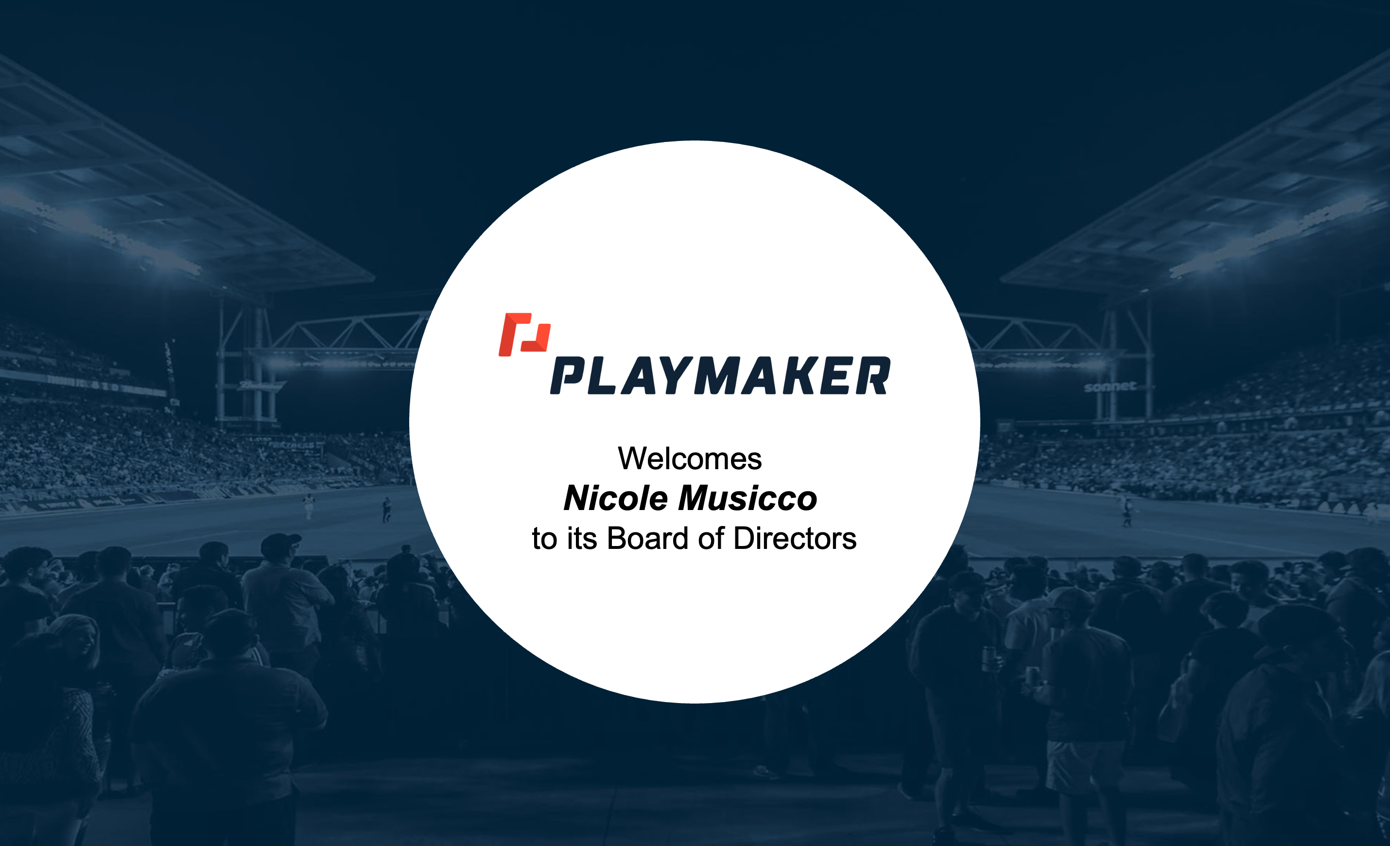 Read more about the article Playmaker Appoints Nicole Musicco To Board Of Directors